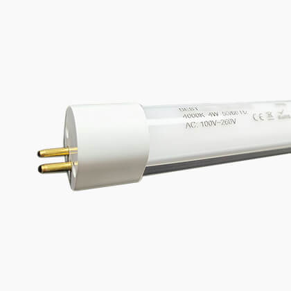 AC mains T5 12W 2F LED tube